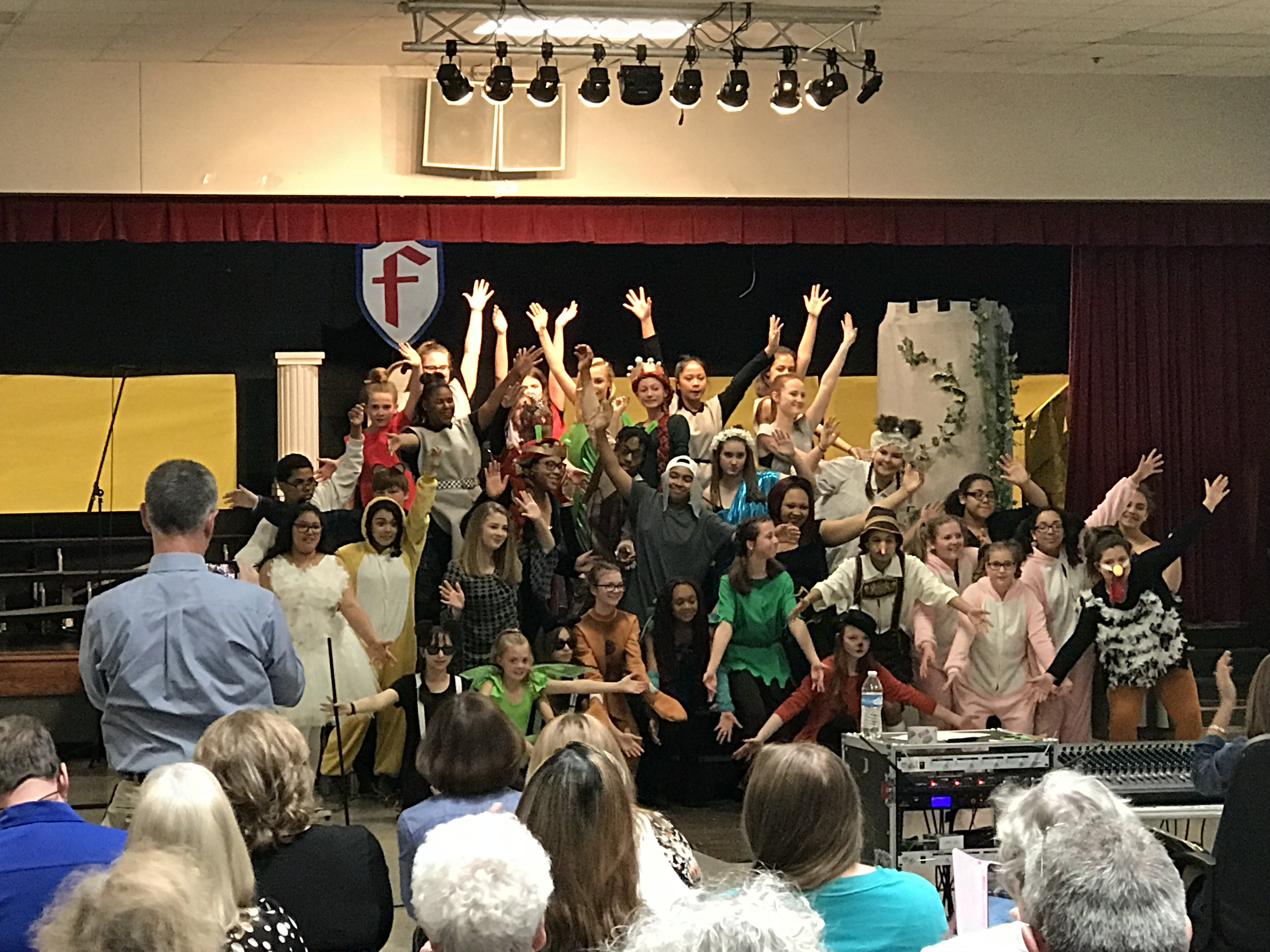 RSMS Performs Shrek Jr. Great Job to All Involved!