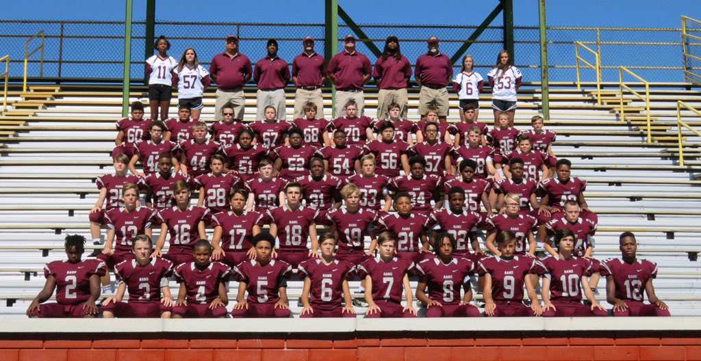 Your 2017-2018 Rucker-Stewart Rams Football Team