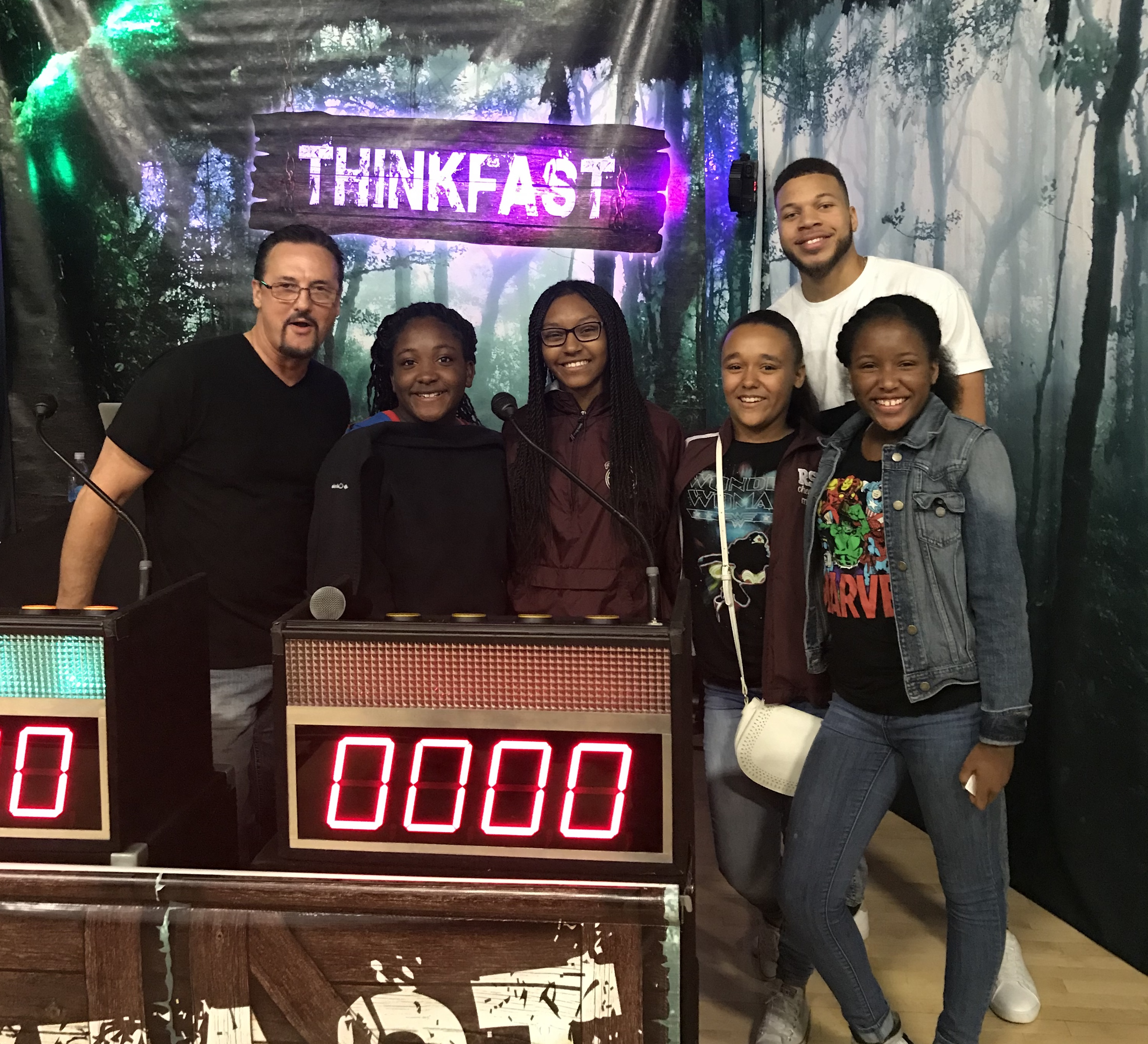 Winners of the Thinkfast Interactive Assembly!