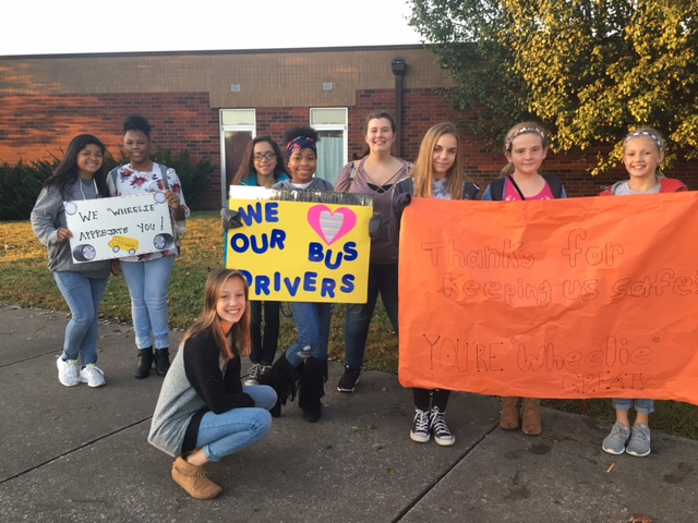 RSMS showing our bus drivers appreciation